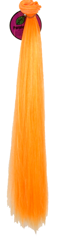 Short Weft - Orange Sherbert