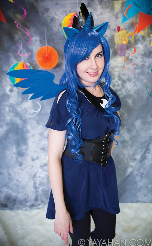 Moon Princess Blue Wig - Designed By Yaya Han