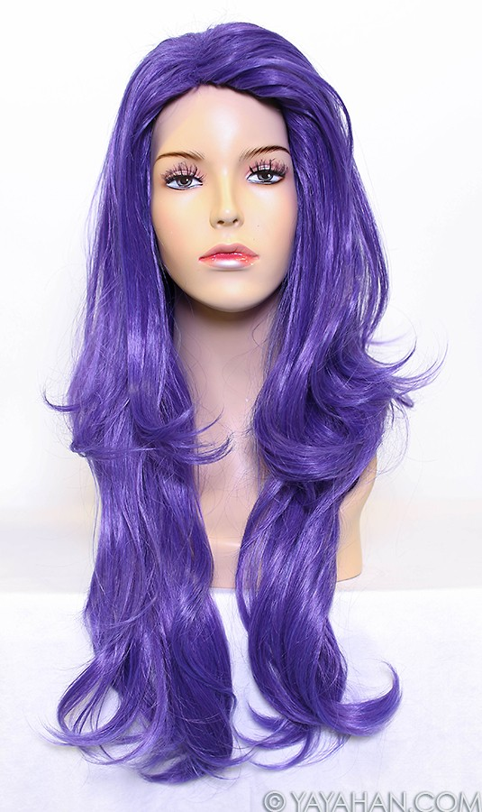 Rare Purple Wig - Designed By Yaya Han