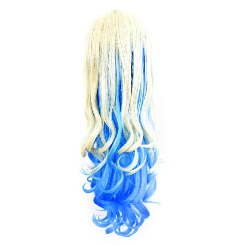 Nia - Flaxen Blond and Sky Blue