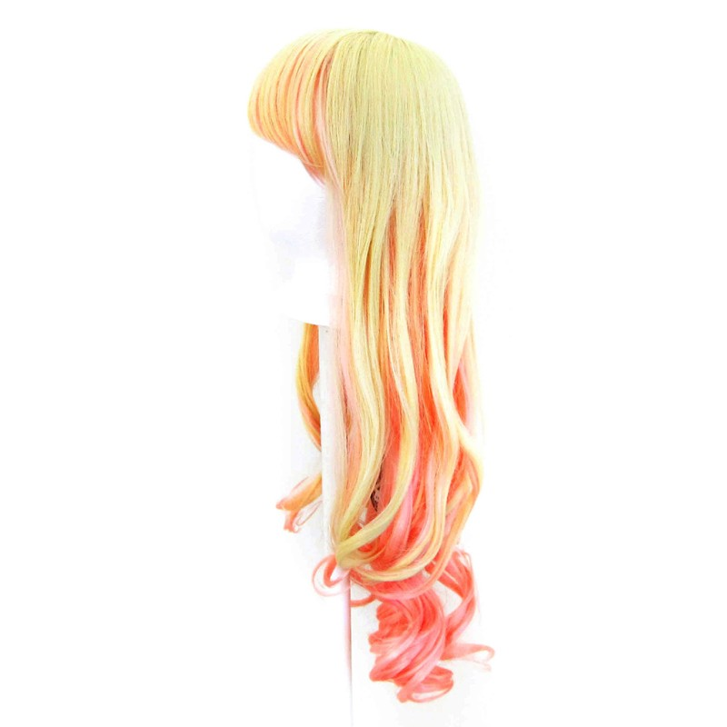 Nia - Flaxen Blond and Cotton Candy Pink