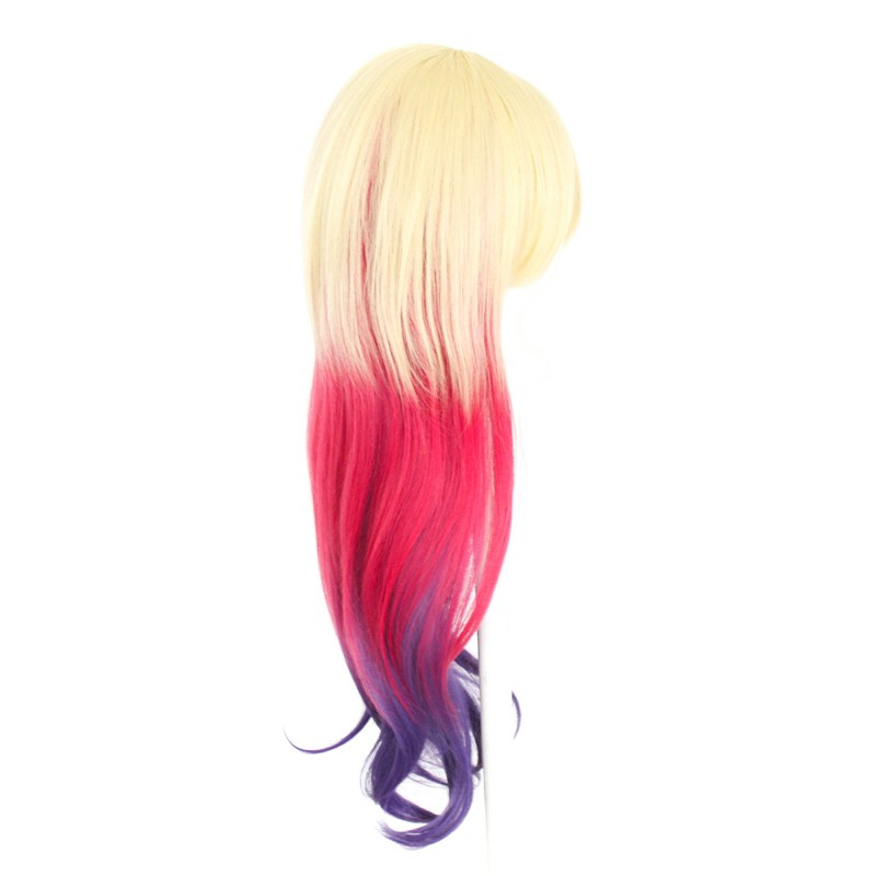 Haku - Fade Flaxen Blond to Pink to Purple