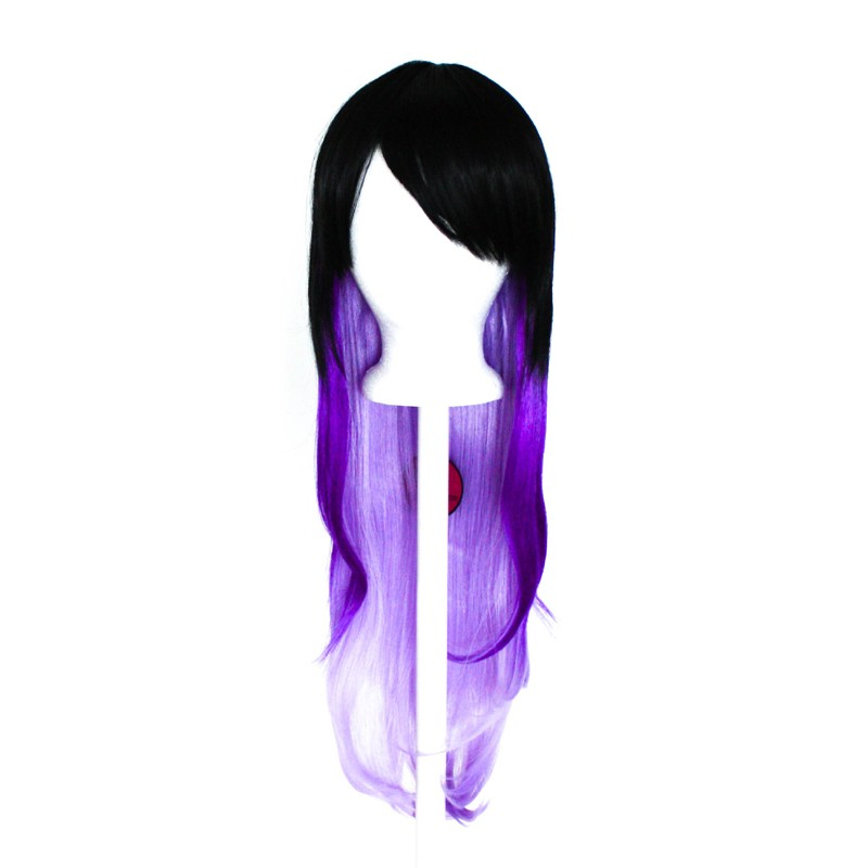 Haku - Natural Black Fade to Lavender Purple