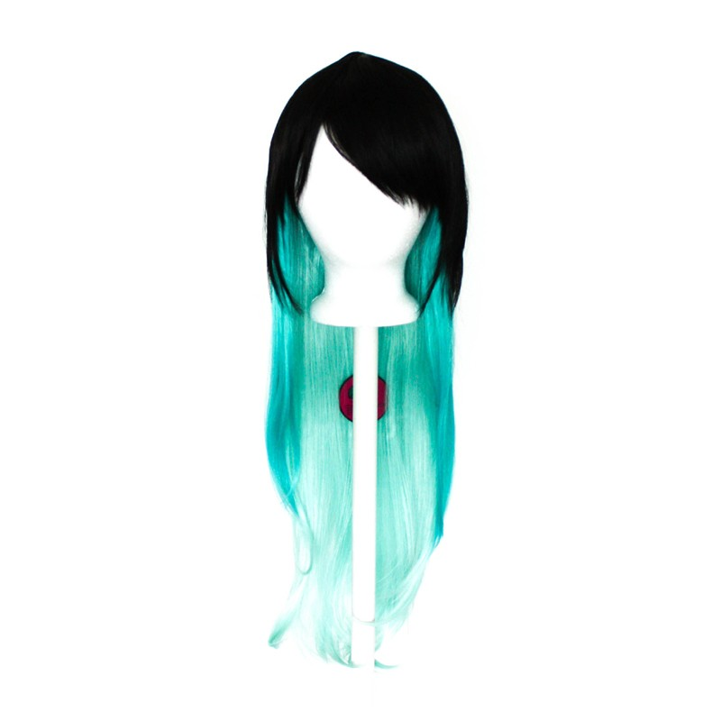Haku - Natural Black Fade to Mint Green