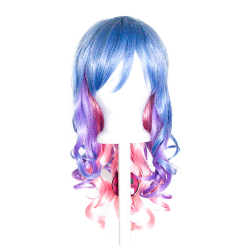 Mei - Saxe Blue, Lavender Purple, Cotton Candy Pink