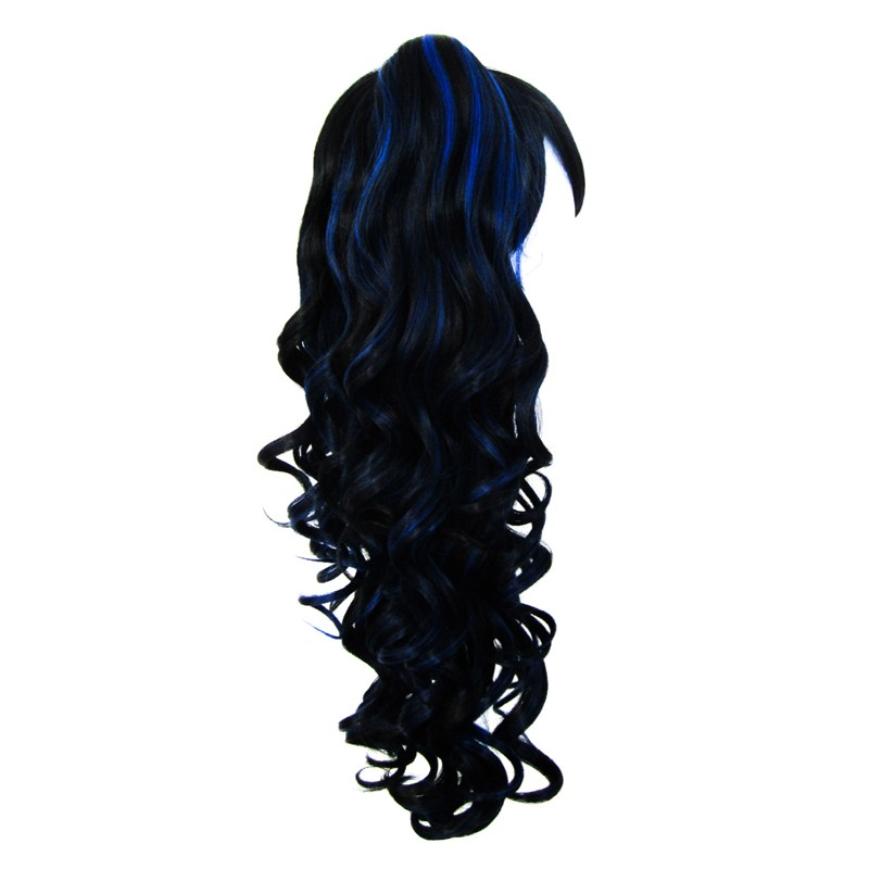 Meiko - Natural Black and Royal Blue Mixed Blend