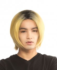 Kenma - Stardust Blond with Black Dyed Roots