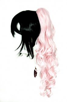 Loose Curly Clip - Cotton Candy Pink
