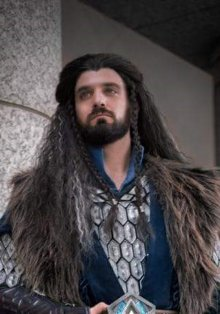 Thorin - Dark Brown with Silver Gray Highlights